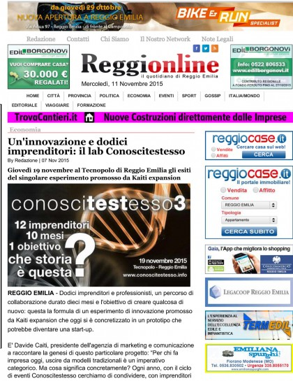 Reggionline 7.11.15