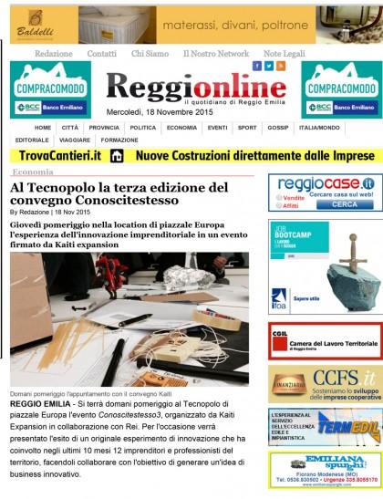 Reggionline 18.11.15