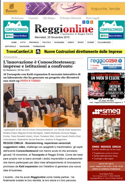 Reggionline 20.11.15