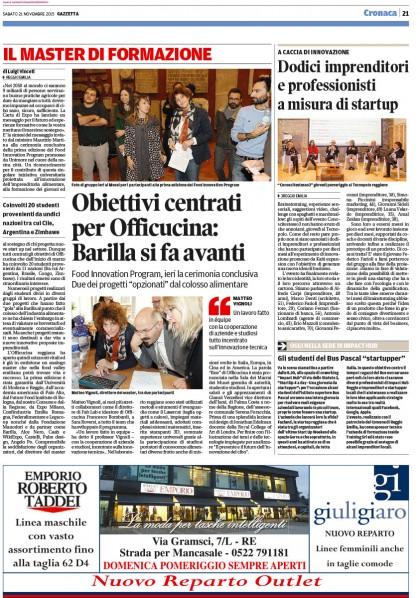 Gazzetta 21.11.15